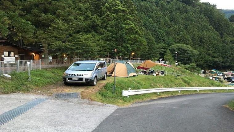 アプトいちしろキャンプ場